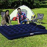 ✅Надувной матрас Pavillo Bestway 67374, 152 х 203 х 22 см, с насосом, подушками. Двухместный, фото 3