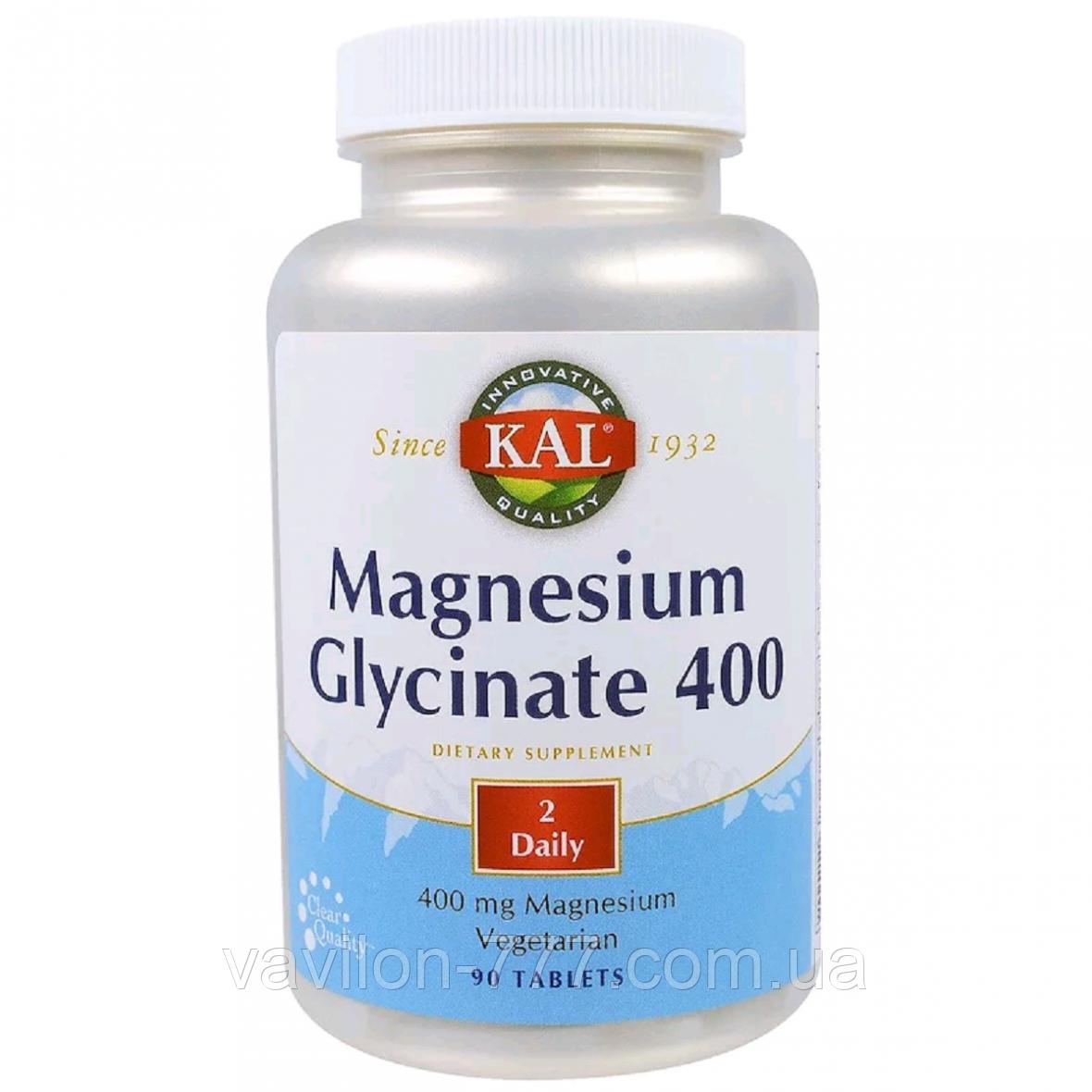 Магний глицинат 400, 400 мг, 180 таблеток
