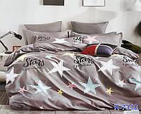 Комплект детского постельного белья со звездами из ранфорса