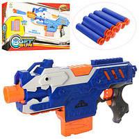 Детский пистолет 9927 на пульках присосках, фото 1