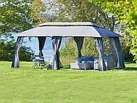 Тканевый павильон (шатер) со стенками  3x6см (стальной каркас + влагоотталкивающий)