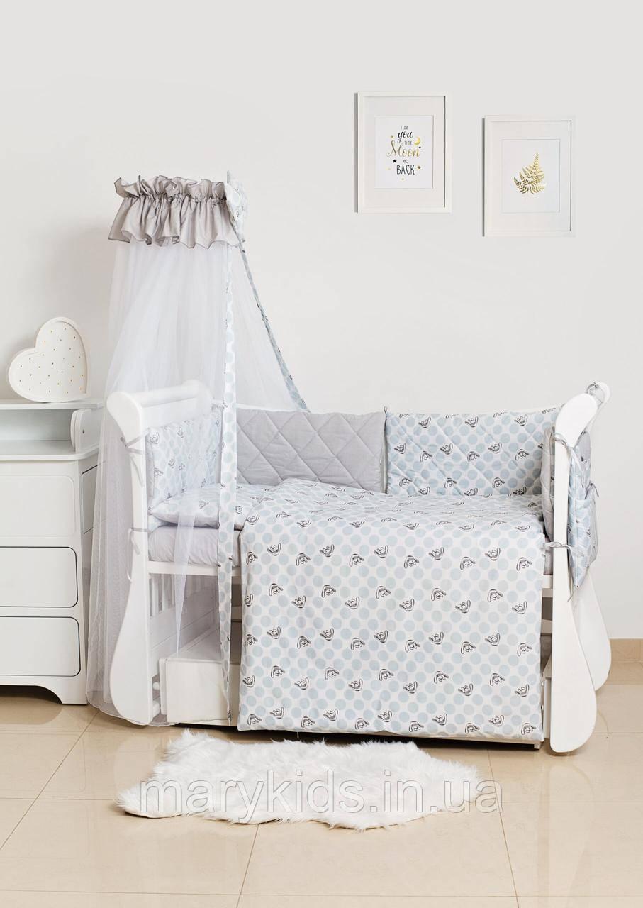 Детская постель Twins Premium Glamour 4029-TG-10G Polka Dots 8 элементов