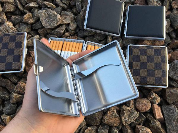 Купить металлический портсигар на 20 сигарет соусированные сигареты купить