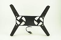 Охлаждающая подставка для ноутбука ErgoStand 202 с подсветкой Черная 1085, КОД: 1267008