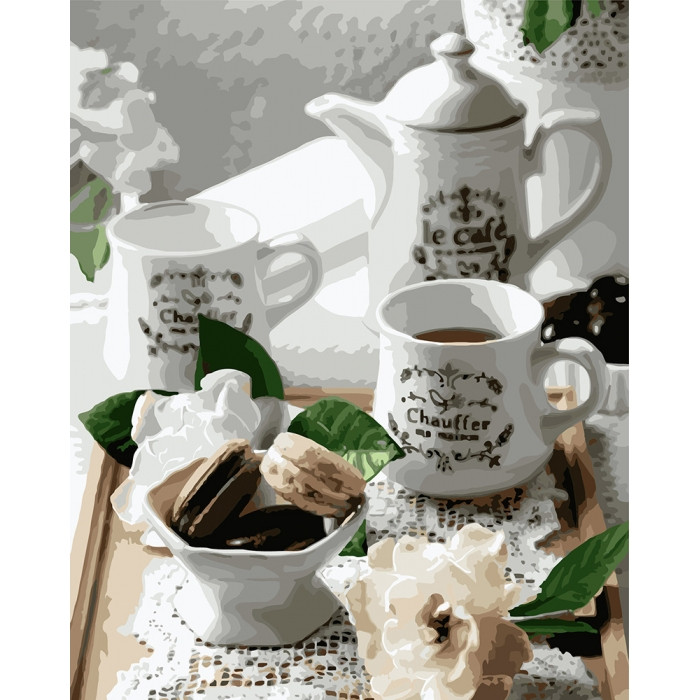 "Картина по номерам.  ""Нежное утро"" 40х50см арт. КНО5588"