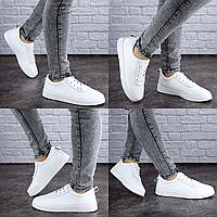 Женские кеды летние белые Pepita 2020 Размер 39 - 25 см по стельке, обувь женская