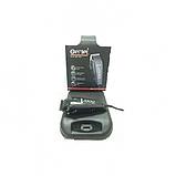 Машинка для стрижки волос 8 насадок профессиональная Gemei GM 1016 чёрный, фото 2