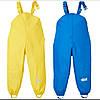 Прорезиненные штаны-комбинезон неутепленные желтые Kuniboo (Германия) р.122/128см, фото 2