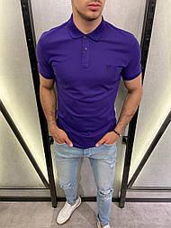 😜 Футболка - Мужская футболка поло синяя