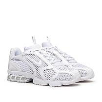 "Кроссовки Nike x Stussy Air Zoom Spiridon Cage ""Белые"", фото 2"