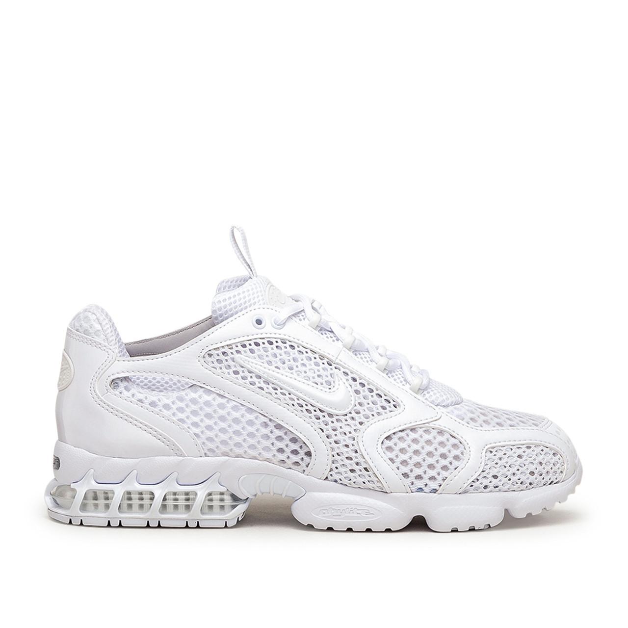"Кроссовки Nike x Stussy Air Zoom Spiridon Cage ""Белые"""