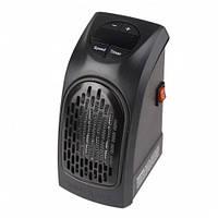 Портативный мини тепловентилятор Handy Heater 400W Черный hubrvEU66425, КОД: 1350413