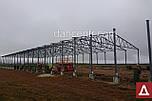 Двускатный навес, ангар 24х48 под склад, цех, фермы, каркас, зерно., фото 8