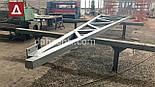 Двускатный навес, ангар 24х48 под склад, цех, фермы, каркас, зерно., фото 3