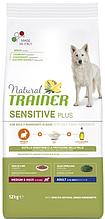 Корм Trainer Dog Sensitive (Трейнер Сенситів) Plus Adult Medium Maxi With Rabbit для собак середніх та великих порід кролик, 12 кг