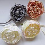 Декоративный магнит подхват Тканевый цветок FT 004, фото 2
