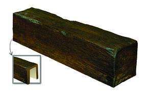 Балка Модерн ED 104 (4м) classic тёмная 17х19. DecoWood