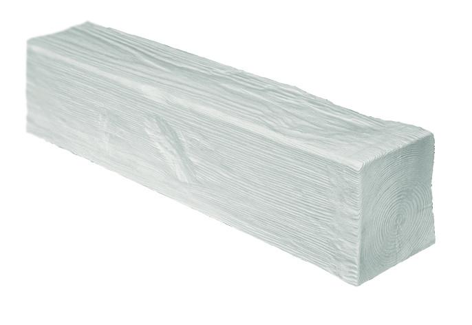 Балка Модерн ED 105 (2м) classic белая 19х13. DecoWood