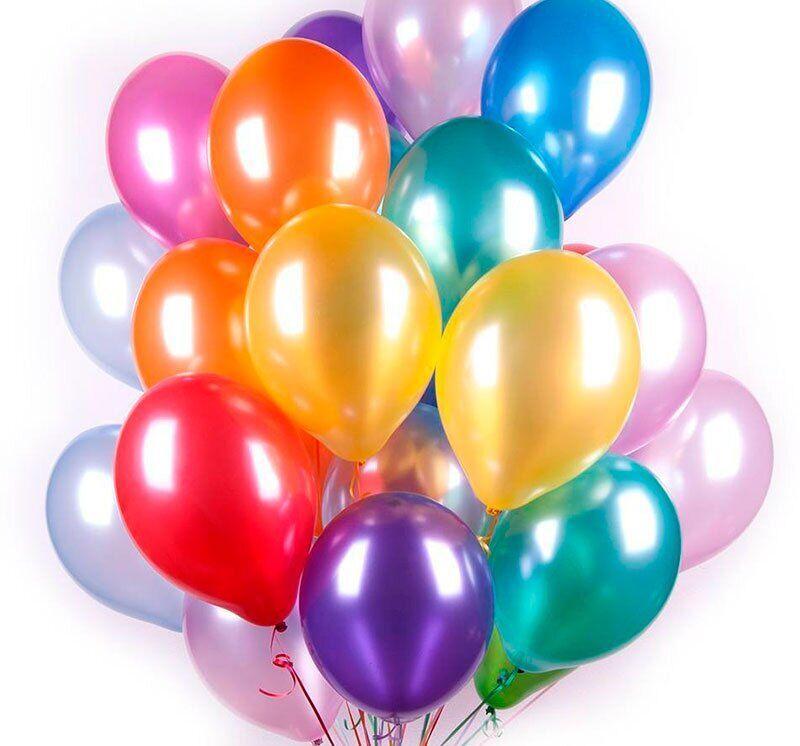"""Воздушные шары Everts 12"""" - 30см Кристалл ассорти"""