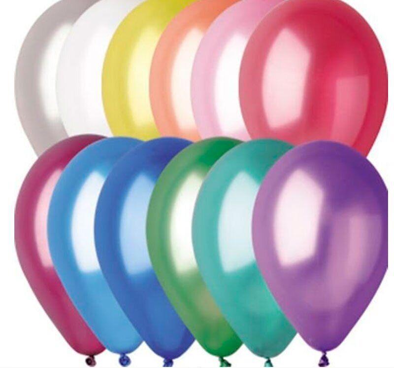 "Воздушные шары Everts 12"" - 30см Металлик ассорти"