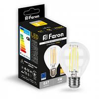 Светодиодная лампа Feron LB-61 4W E27 2700K, фото 1