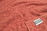 Махровая простынь Lotus - Deco Коралл 200х220, фото 2