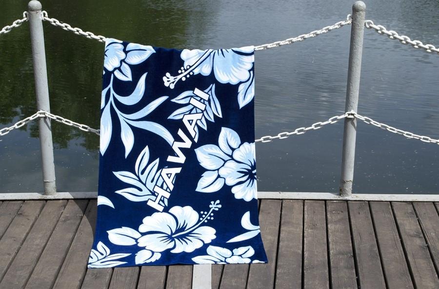 Полотенце Рушник Lotus пляжное - Hawaii 75х150