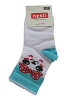 Носки махровые для девочки Nesti белые, 3-4 года, фото 1