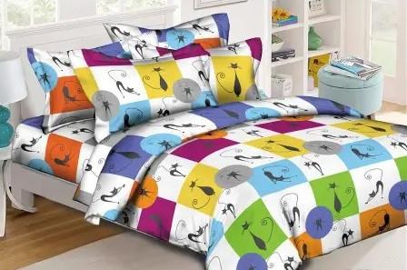 """Комплект постельного белья Kris-Pol """"Cats"""""""