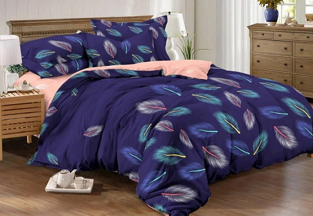 """Комплект постельного белья Kris-Pol """"Цветные перья"""""""