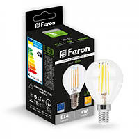 Светодиодная лампа Feron LB-61 4W E14 4000K, фото 1
