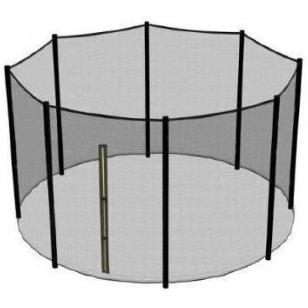 Захисна сітка для батута 374 см 8 стовпчиків, зовнішня (12 ft)