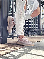 Женские розовые кроссовки Adidas Yeezy Boost 350 «Synt» | Адидас Изи Буст 350