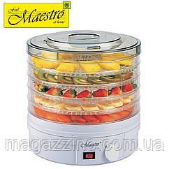 Электрическая сушилка для овощей и фруктов Maestro MR-765, 245 Вт.