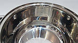 Кастрюля  с крышкой UNIQUE UN-5004 18см  2,5л нержавейка, фото 8