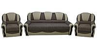 Комплект диван 2 кресла раскладные Лидия (алеко)