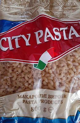 Рожки маленькие City Pasta с твёрдых сортов 800 грамм