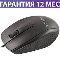 Компьютерная мышь Esperanza XM110K черная, оптическая, USB, 1000 dpi (XM110K), проводная мышка