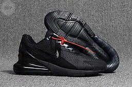Мужские кроссовки Nike Air Max 270 Cauchuk Flair Black Оригинал