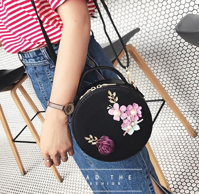 Модна жіноча сумочка квіти