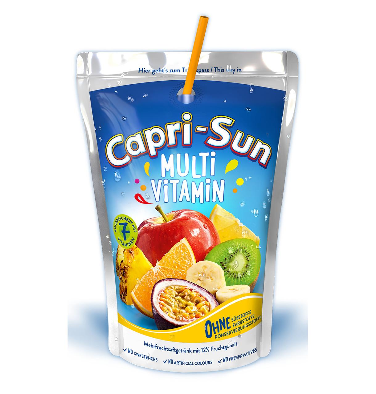 Напій CAPRI-SUN Multivitamin 0,2л 10шт/уп, 40шт/ящ