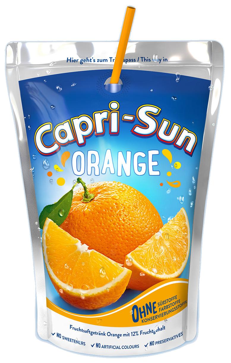 Напій CAPRI-SUN Orange 0,2 л, 10 шт/уп. 40 шт/ящ.