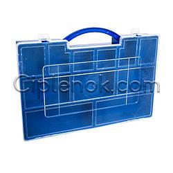 Пластиковый органайзер для мелких деталей, запчастей (200х280х40)