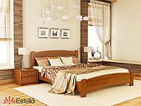 Кровать двуспальная из натурального дерева Венеция Люкс 160х200, 105, Щит 2Л4