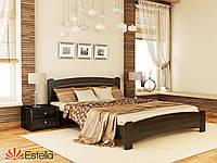Кровать двуспальная из натурального дерева Венеция Люкс 160х200, 106, Щит 2Л4
