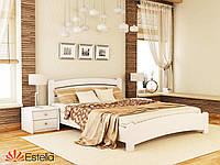 Кровать двуспальная из натурального дерева Венеция Люкс 160х200, 107, Щит 2Л4