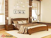 Кровать двуспальная из натурального дерева Венеция Люкс 160х200, 103, Щит 2Л2,5