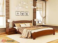 Кровать двуспальная из натурального дерева Венеция Люкс 160х200, 105, Масив 2Л2,5