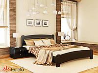 Кровать двуспальная из натурального дерева Венеция Люкс 160х200, 106, Масив 2Л2,5