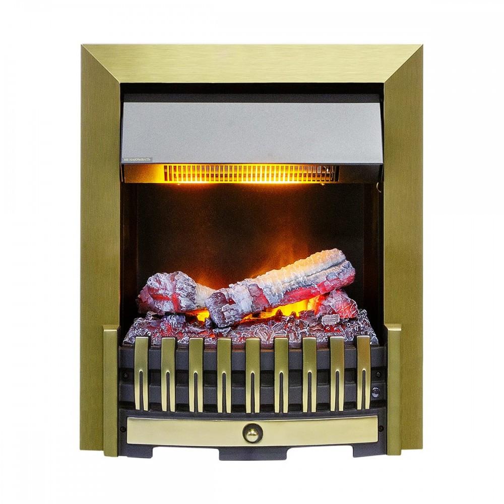 Електрокамін Dimplex Danville Antique Brass з зволожувачем повітря